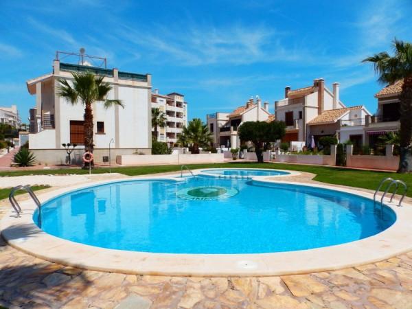 Appartement met 2 slaapkamers en gem zwembad in Orihuela Costa