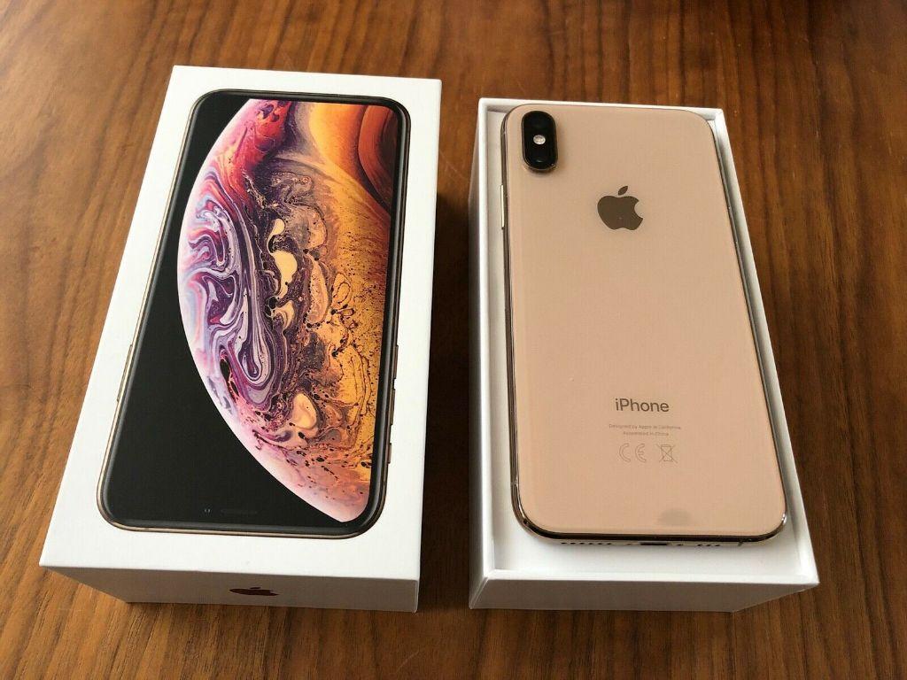 Apple iPhone XS 64GB = $450USD  , iPhone XS Max 64GB = $480USD