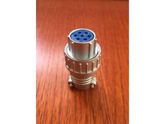 Zendapparatuur Yaesu Rotor connectors in oud en nieuw model.