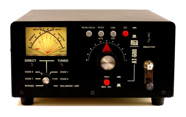 Palstar HF Tuner + 50Mhz +70 Mhz  Model AT500