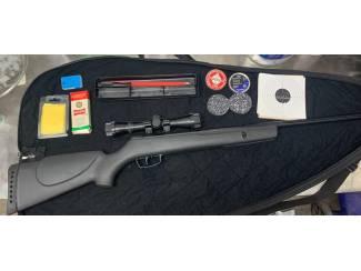 Gamo BigCat 1200 4.5mm luchtbuks + toebehoren.