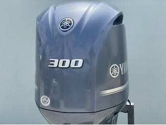 Yamaha Lf300xca, 300 Hp, 25' Shaft, Digital, Electric, Pt&t, Off